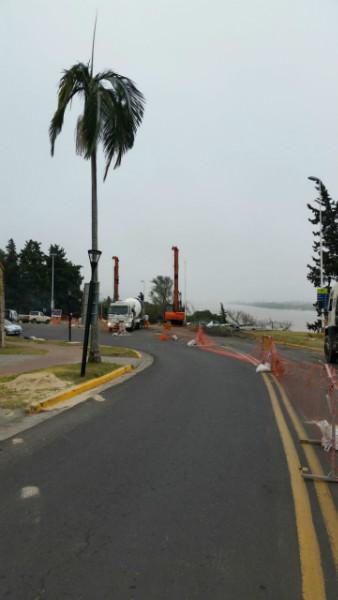 Obra en costanera de Paraná - Entre Ríos