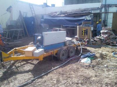 Bomba Inyectora de Cemento