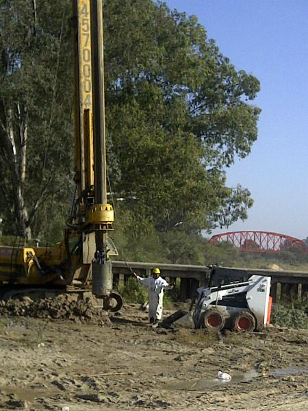 Viaducto en Santiago del Estero para Constructora Solana SRL