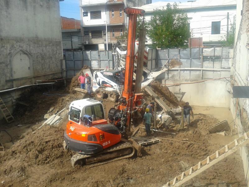 Obra en Ciudadela provincia de Buenos Aires para Belmax